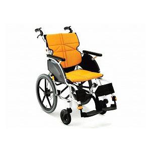 松永製作所 ネクストコア《スタンダード》 NEXT-21B(介助型車いす)【車椅子 車いす 介助用 軽量 折りたたみ アルミ】