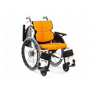 松永製作所 ネクストコア-マルチ《跳ね上げ&スイングアウト》 NEXT-31B(自走型車いす)【車椅子 車いす 自走用 軽量 折りたたみ アルミ】