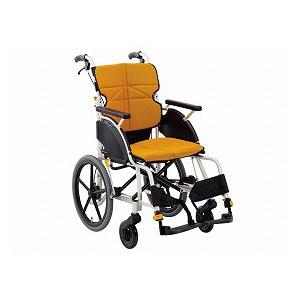 松永製作所 ネクストコア-マルチ《高床》 NEXT-22B(介助型車いす)【車椅子 車いす 介助用 軽量 折りたたみ アルミ】