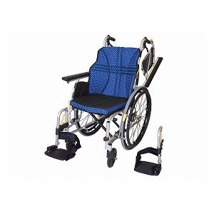 日進医療器 ウルトラシリーズ多機能タイプ NA-U2W(自走型車いす)【車椅子 車いす 自走用 軽量 折りたたみ アルミ】