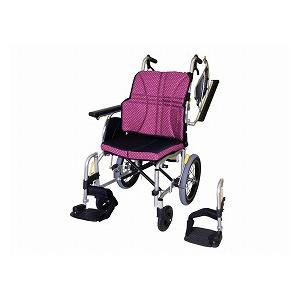 日進医療器 ウルトラシリーズ多機能タイプ NAH-U2W(介助型車いす)【車椅子 車いす 介助用 軽量 折りたたみ アルミ】