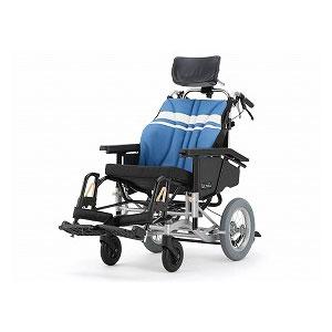 日進医療器 ウルトラシリーズ ティルト&リクライニング介助型車いす NAH-UC・Lo【介助式 リクライニング ティルト 多機能 車椅子 車イス】