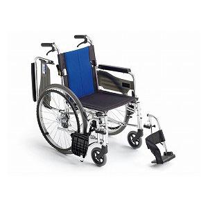 ミキ BAL-3 多機能 (自走型車いす)【車椅子 車いす 自走用 軽量 折りたたみ アルミ】