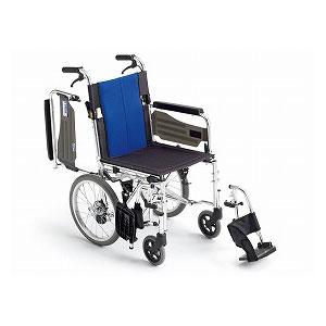 ミキ BAL-4 多機能(介助型車いす)【車椅子 車いす 介助用 軽量 折りたたみ アルミ】