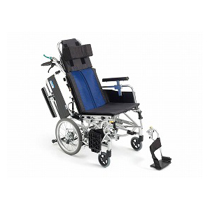 ミキ ティルト&リクライニング介助型車いす BAL-12【介助式 リクライニング ティルト 多機能 車椅子 車イス】
