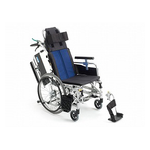 ミキ ティルト&リクライニング自走型車いす BAL-11【介助式 リクライニング ティルト 多機能 車椅子 車イス】