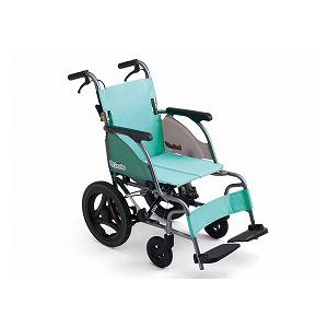 ミキ 介助型車いす カルティマ CRT-6【車椅子 車いす 介助用 軽量 折りたたみ アルミ】