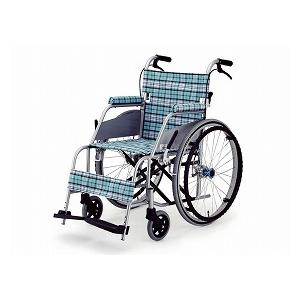 片山車椅子 自走型車いす KARL(カール) KW-90【車椅子 車いす 自走用 軽量 折りたたみ アルミ】