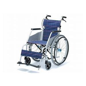 片山車椅子 自走型車いす KARL2カールコンパクト KW-801【車椅子 車いす 自走用 軽量 折りたたみ アルミ】