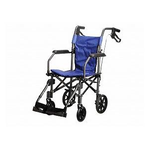 ユーキ・トレーディング 折り畳み式軽量介助車 ハンディライトプラス HLP09020BL
