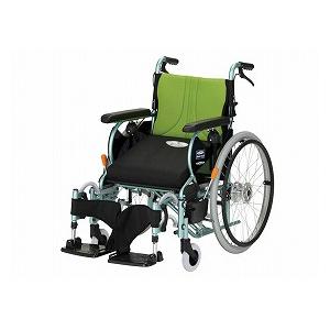 フランスベッド 自走型車いす 前後安心転ばなイス【車椅子 車いす 自走用 軽量 折りたたみ アルミ】