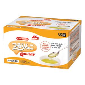 クリニコ セール特別価格 つるりんこQuickly 3g×50本 介護食 とろみ剤 とろみ調節 嚥下補助 餡 ミキサー食 トロミ ファクトリーアウトレット ペースト