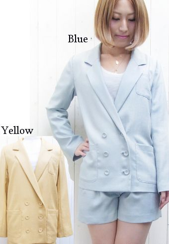blondy ブロンディ Bitten Apple スラブツイルジャケット 13春夏0203150012 春アウター