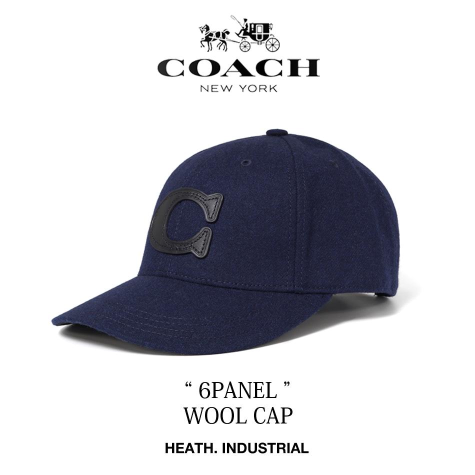 コーチ COACH ウール 海外 輸入 キャップ メンズ 帽子 33318 最安値 30代 40代 アメカジ ヒース HEATH. 横浜 大人