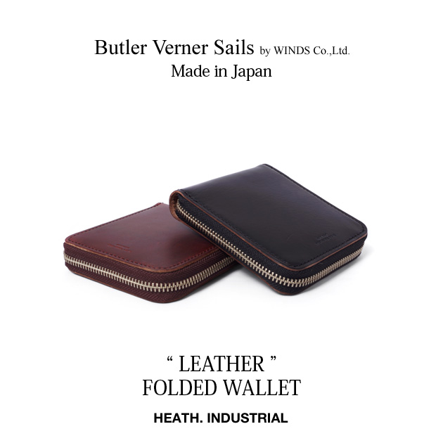 財布 二つ折り財布 日本製 レザー 高級レザー 牛革 栃木レザー ギフト HORWEEN ホーウィンレザー アウトドア
