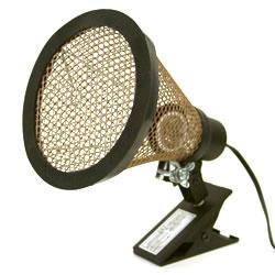 シャトル+クリップスタンドひまわりセット/ライト 照明 電球 ヒーター カバー 爬虫類 カメ みどり商会