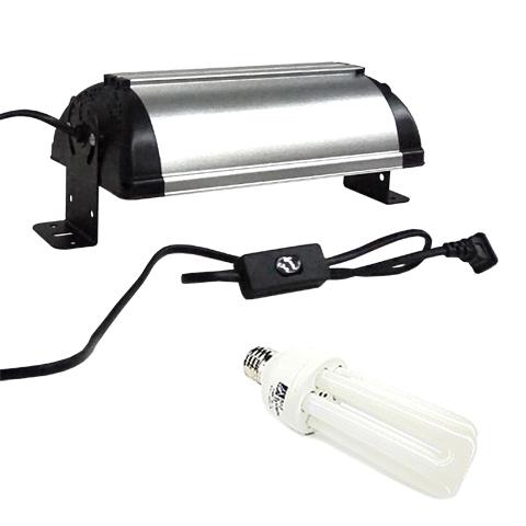 バードシステム コンパクトランプユニット&専用球セット/小鳥用日光浴ライト 紫外線 UVB オカメインコ セキセイインコ