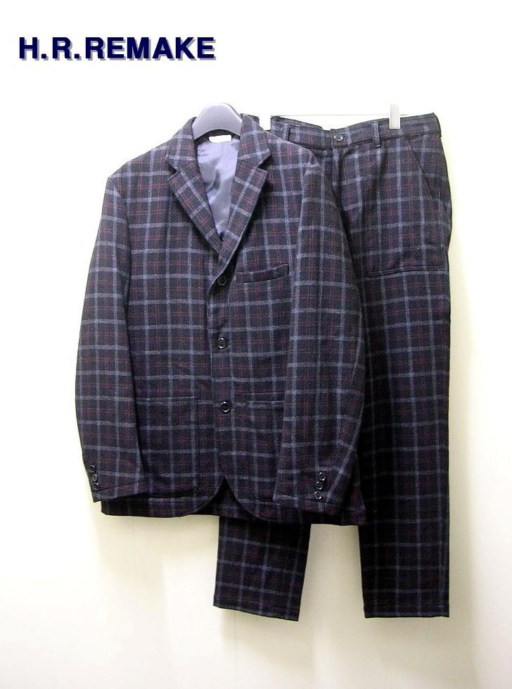 【H.R.REMAKE [エイチアールリメイク] ジャケット パンツ セットアップ】【中古】