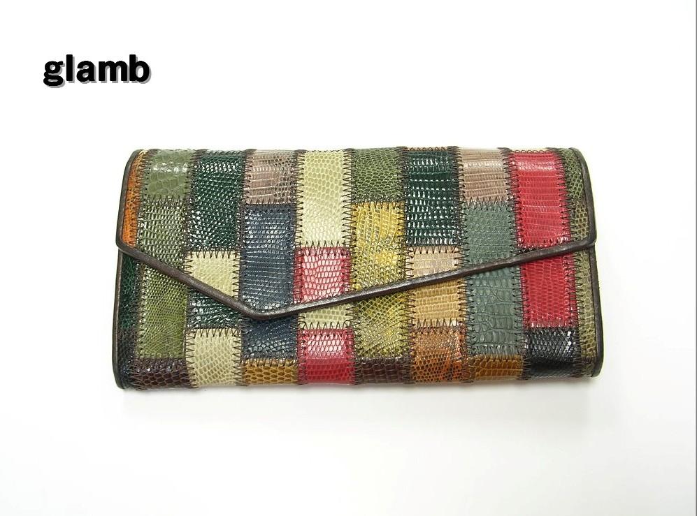 【glamb Rudy long wallet 財布 グラム ロング ウォレット】【中古】