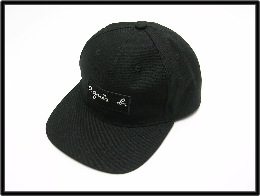 1d2c3f7ee1e  agnes b. pour ADAM ET ROPE  CASQUETTE CAP アニエスベープールアダムエロペボックスロゴキャップ hat  man and woman combined use unisex