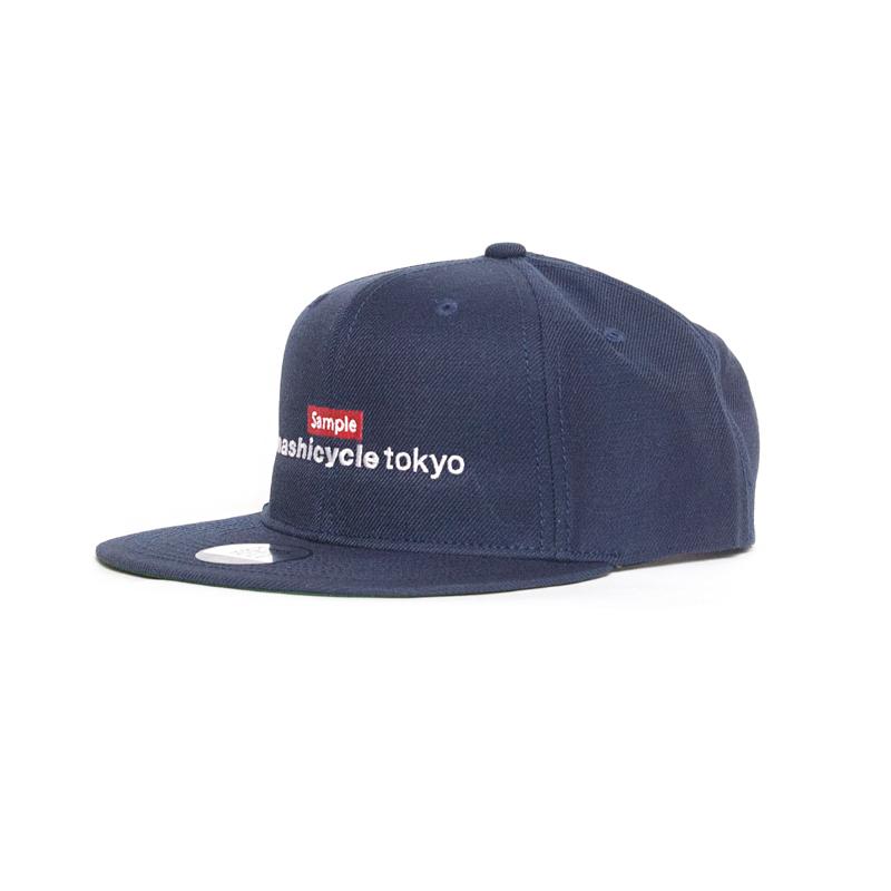 1番人気 NAVY 【木梨サイクル キャップ sample boxロゴ KINASHI CYCLE 木梨憲武 帽子】