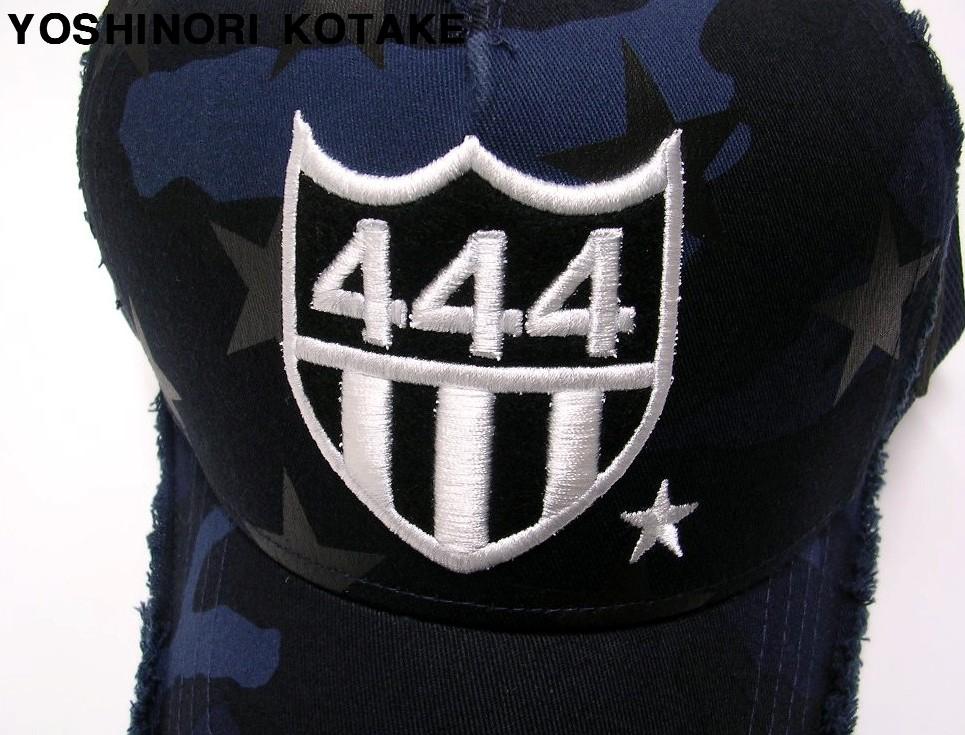 人気【YOSHINORI KOTAKE CAP ヨシノリコタケ キャップ 444 スター カモ YK3DMSTAR-444/NVYCAMO.3 NVY WHT/BLK】