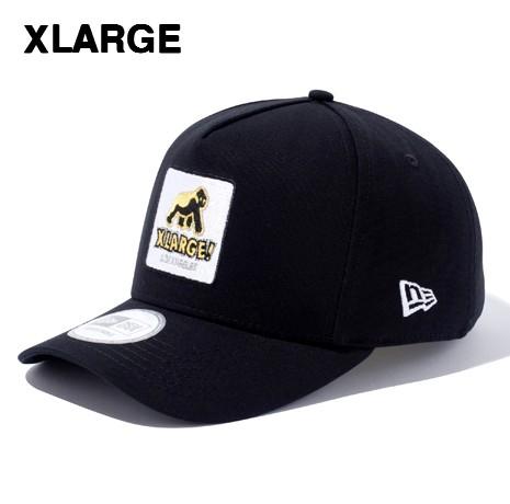 人気 BLACK【XLARGE x NEW ERA WALKING APE SNAPBACK CAP エクストララージ x ニューエラ キャップ 黒 ブラック】