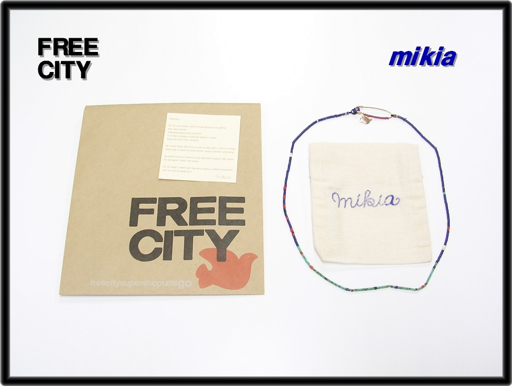 [Mikia FREECITY [鲜茶] x [多边投资担保机构] 项链金] [使用]