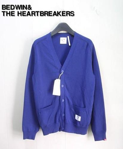 1 【BEDWIN& THE HEARTBREAKERS ベドウィン&ザ・ハートブレイカーズ L/S KNIT CARDIGAN ニット カーディガンALLEN 13SS3072】