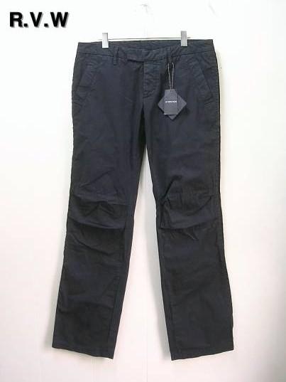 5 黒【R.V.W リップヴァンウインクル ルーズパンツ】RVW-1028【中古】