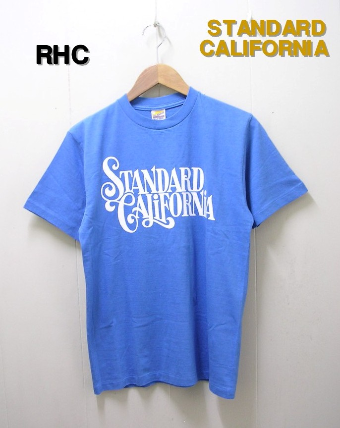 M BLUE 【STANDARD CALIFORNIA [スタンダードカリフォルニア] RHC JEFF FOR SD T RON HERMAN LIMITED ロンハーマン リミテッド】【新品】