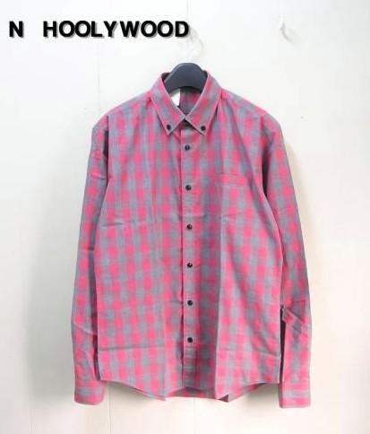 36 【N.HOOLYWOOD ミスターハリウッド BDチェックシャツ】131-SH02