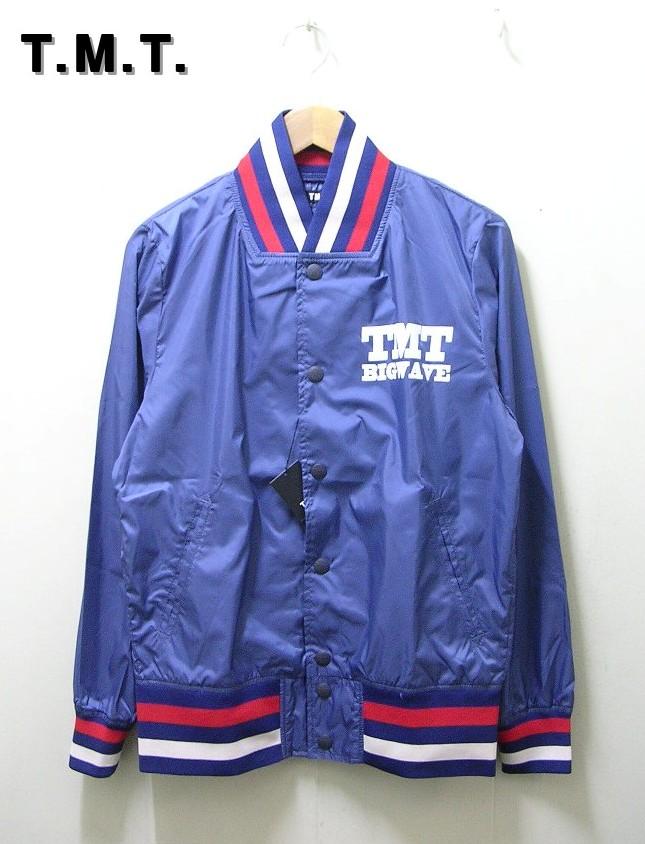 M 紺 NAVY【TMT [ティーエムティー] IVY BLOUSON アイビー ブルゾン ジャケット】TJK-S1509