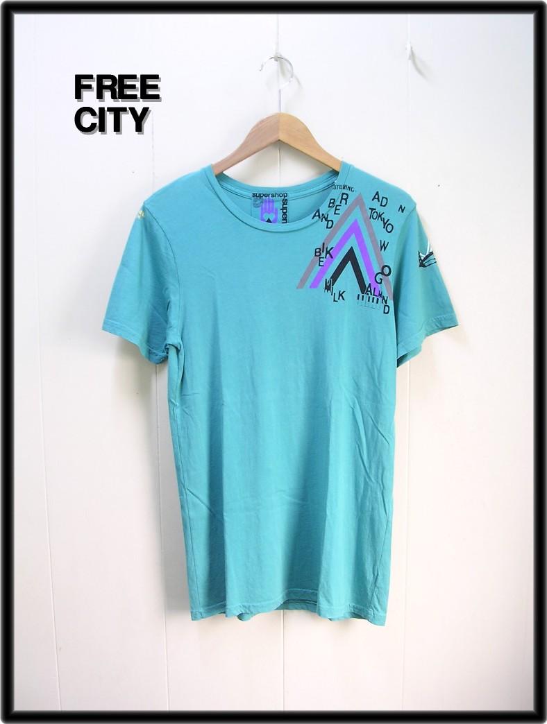 M 【FREE CITY [フリーシティー] Tシャツ Ron Herman ロンハーマン】【中古】