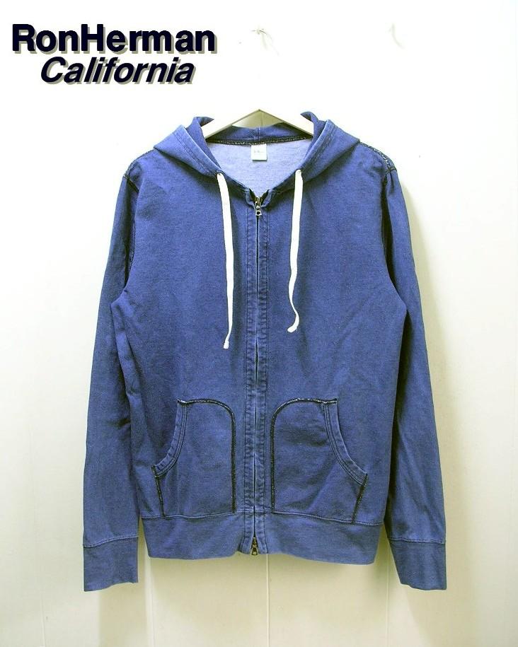 L 【RHC Ron Heaman CALIFORNIA [ロンハーマン カリフォルニア] インディゴZipパーカー  】312090065-1071【中古】