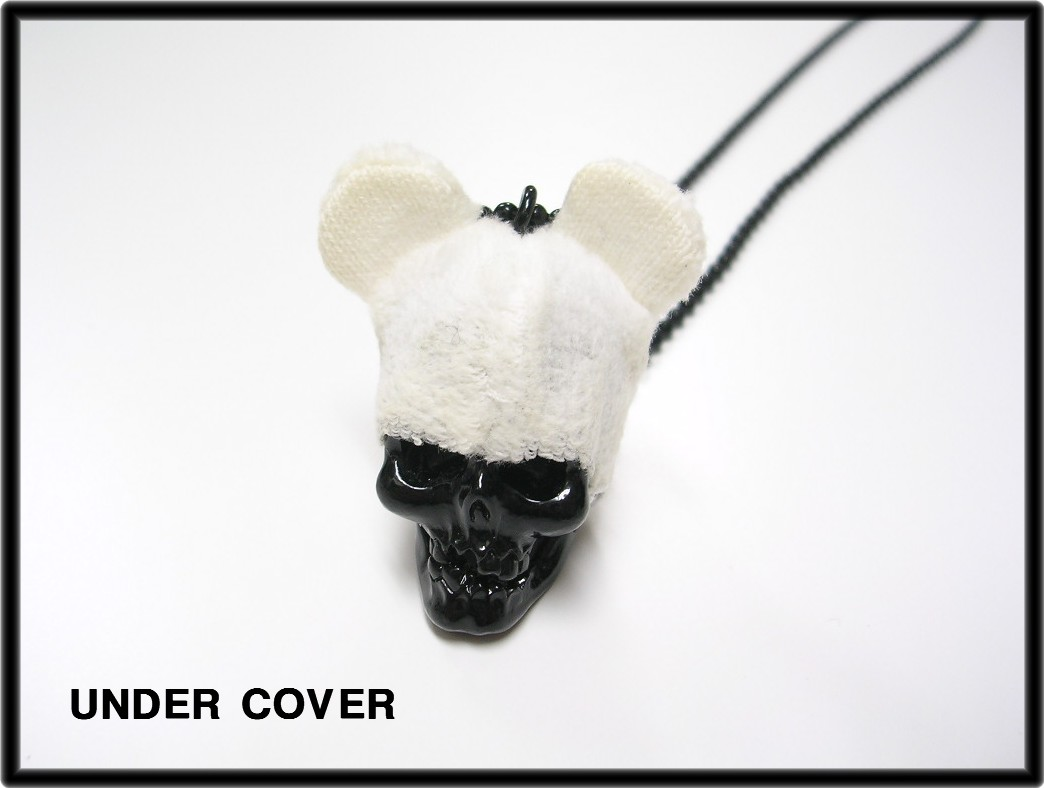 [BUT during UNDERCOVER undercover skull necklace hats] [Used]