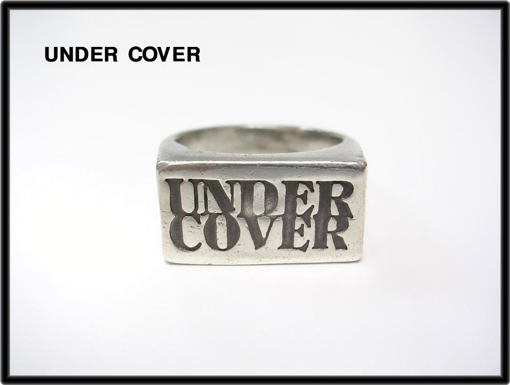 [UNDER COVER下面覆盖物UNDERCOVER标识环银子小指环戒指][二手货]