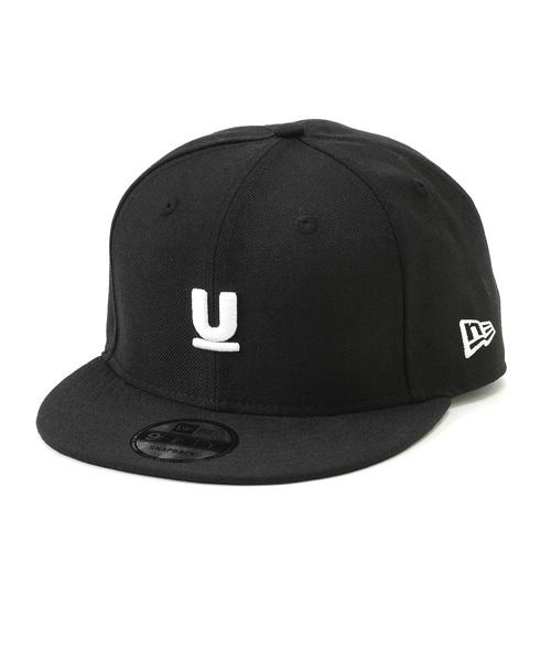 再入荷 C.BLACK【UNDERCOVER x NEW ERA U LOGO 9FIFTY CAP Under Cover アンダーカバー x ニューエラ Uロゴキャップ ヘッドウェア 帽子 黒 ブラック】