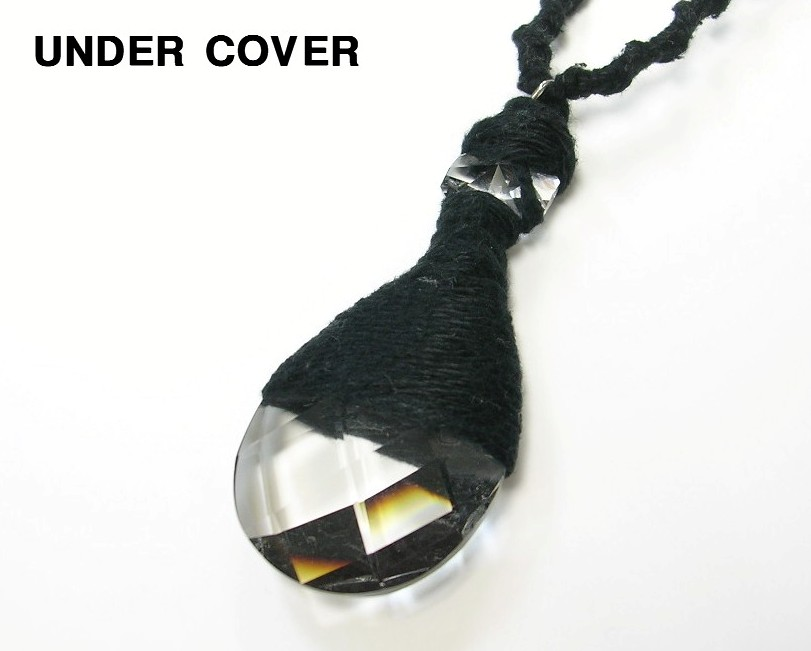 BLACK【UNDERCOVER Necklace アンダーカバー ネックレス チョーカー クリアー】【中古】