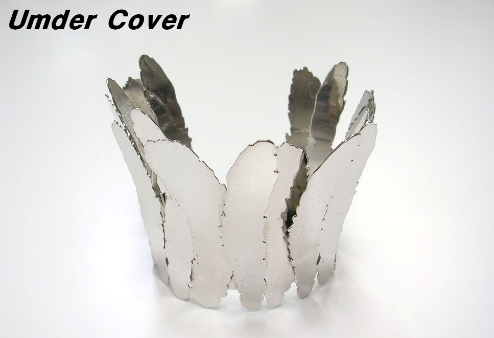 2011AW B.SILVER【UnderCover アンダーカバー フェザーバッグル ブレス】H6A03-1【中古】