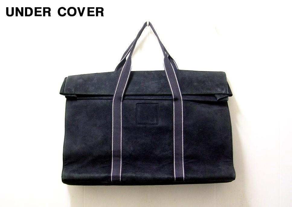 【UNDER COVER TOTE BAG アンダーカバー トートバッグ バック 鞄 UNDERCOVER スエード スウェード】【中古】