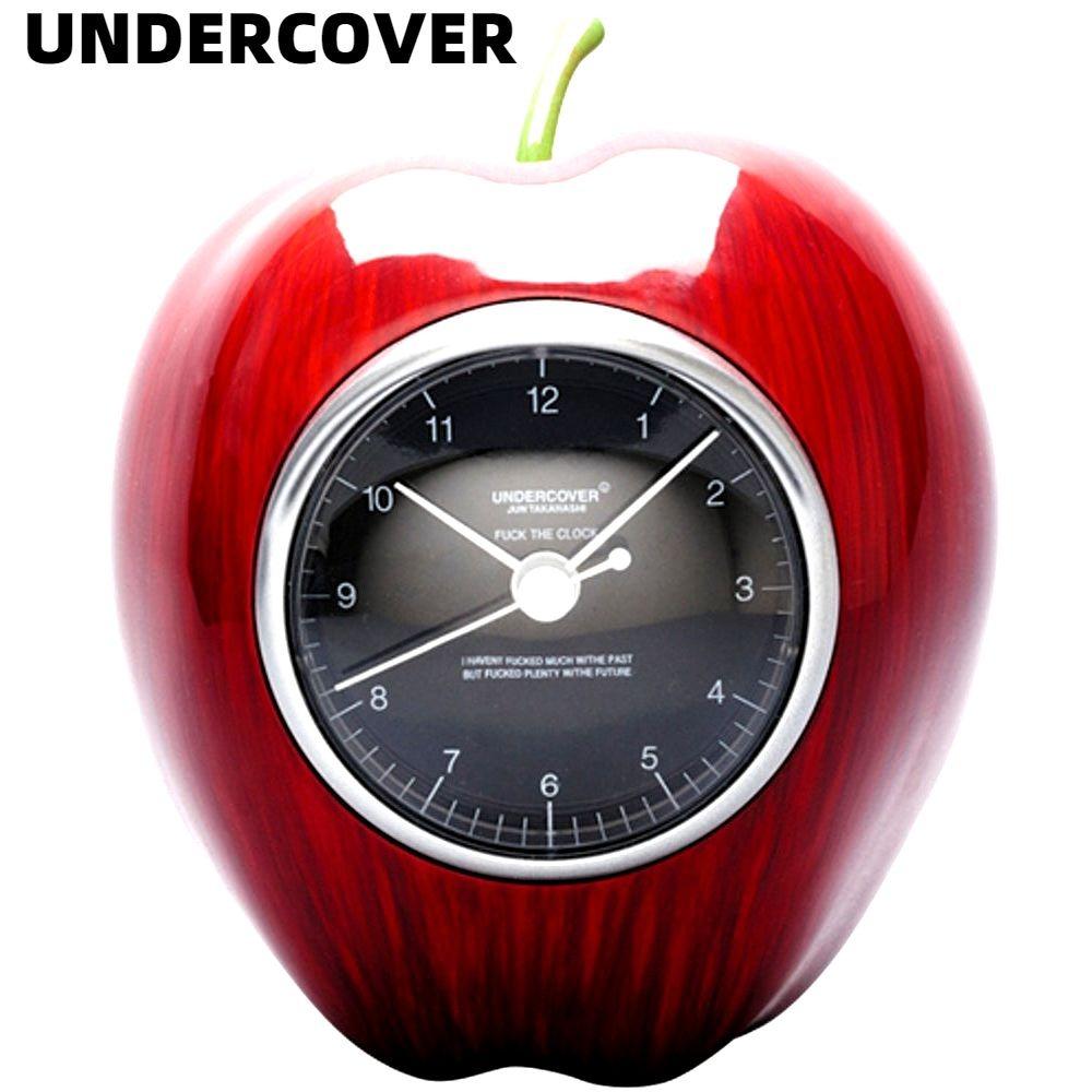 RED MEDI COM TOY x 正規激安 人気ブレゼント! UNDERCOVER GILAPPLE CLOCK ギラップル クロック アンダーカバー 時計 メディコムトイ