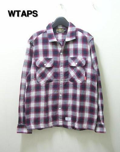 【WTAPS [ダブルタップス] VATOS L/S CHECK SHIRTS チェックシャツ】