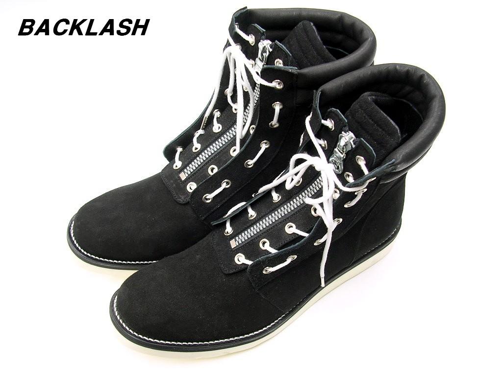 26cm ¥79 200 ISAMU KATAYAMA BACKLASH FireMan Boots 630 01 BLACK イサムカタヤマ バックラッシュ ファイヤーマンブーツ レザーブーツwOkZiTPuX