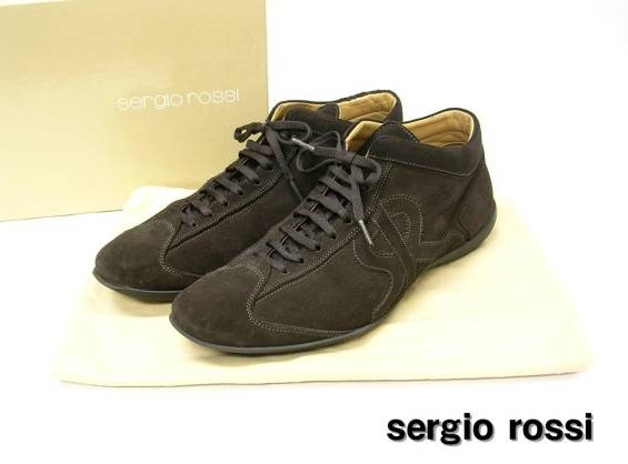 7 【sergio rossi セルジオ ロッシ シューズ スニーカー】