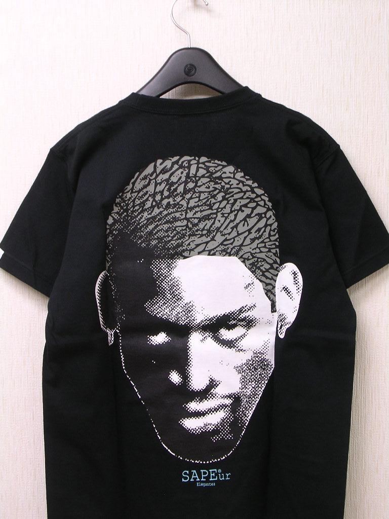 M 黒 BK【SAPEur DOTmanColorHeads S/S Tshirt サプール ドットマン カラーヘッド Tシャツ CementHead セメントヘッド ロッドマン Tシャツ】