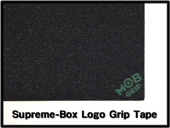 [Supreme[shupurimu]x MOB GRIP Box Logo Grip Tape甲板握柄带子滑板滑板]