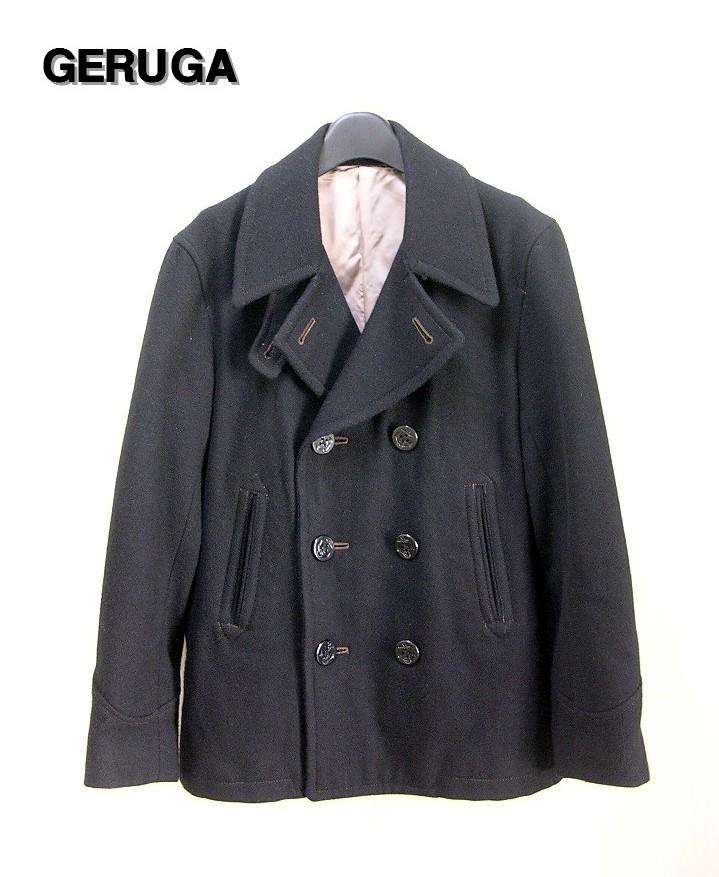3 黒 BLACK【GERUGA [ゲルガ] Pコート ピーコート ジャケット】GR-J-05【中古】