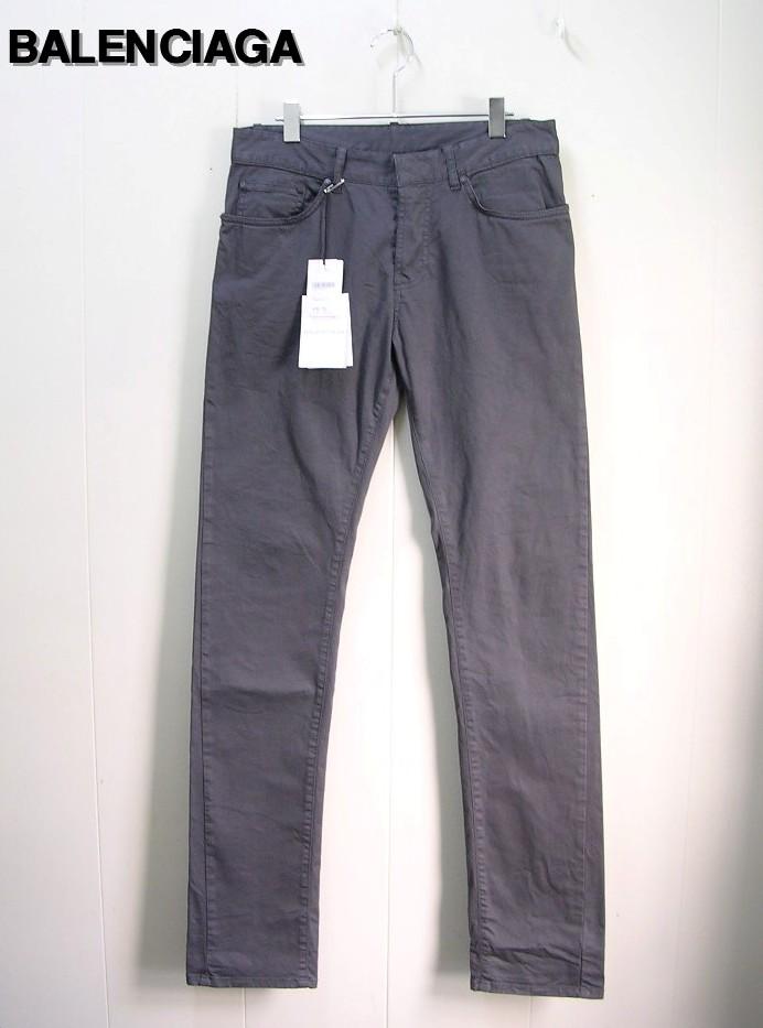 MEN'S メンズ30 Grey【BALENCIAGA バレンシアガ ストレッチパンツ】301832 TEE57 /1440