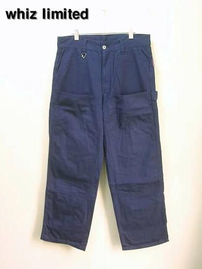 L 紺 08AW【whiz limited ウィズ リミテッド パンツ】WZ-AW08-P-01【中古】